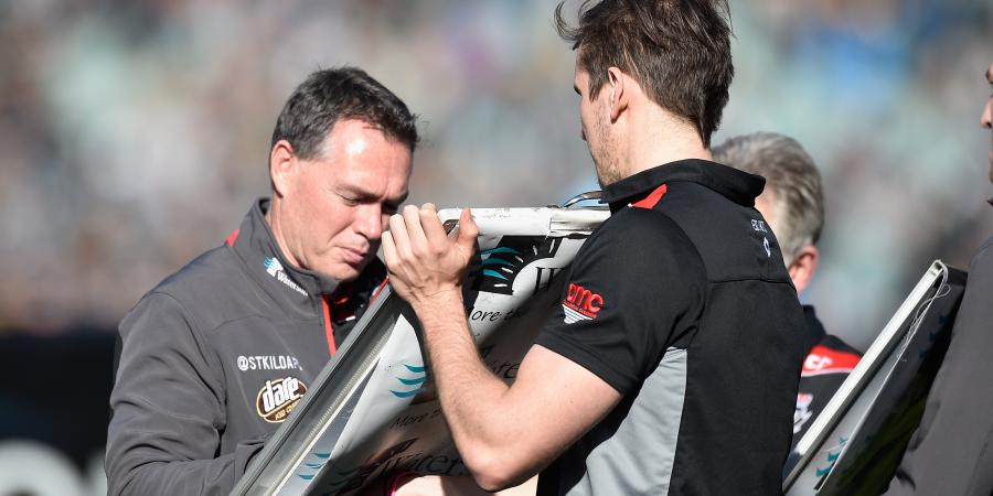 Saints coach demands strong AFL finish