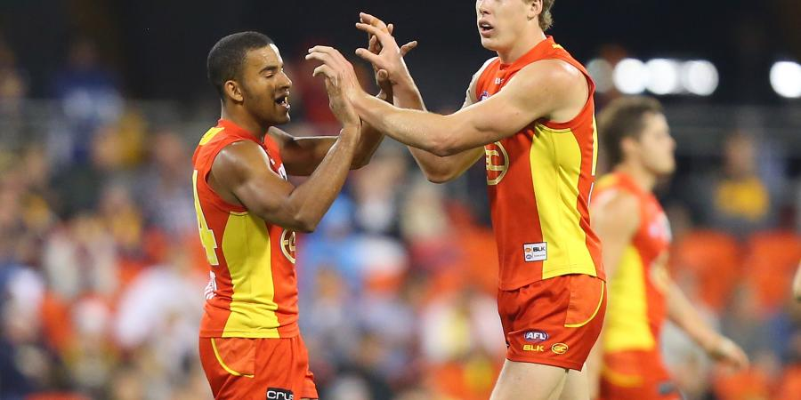 Captaincy can wait for Suns AFL star Lynch