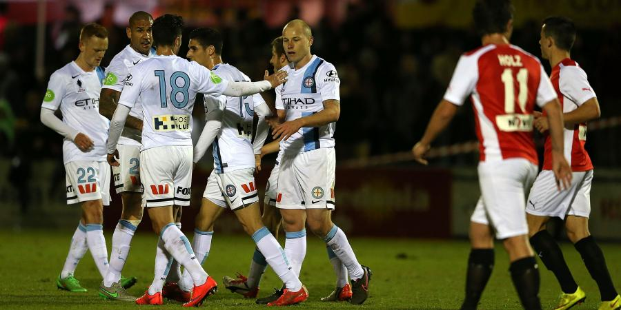 Melbourne City escape FFA Cup major upset