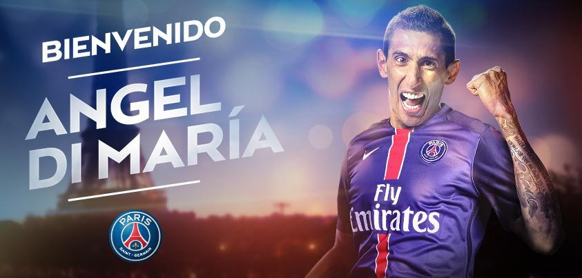 Angel Di Maria signs for PSG