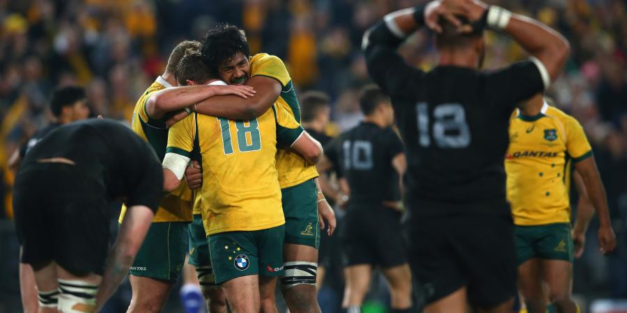 The Wallabies Beat All Blacks To Win The Rugby Championship - Should We Be Worried?