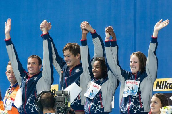 USA - their rep is intact. 2015 FINA World Champs