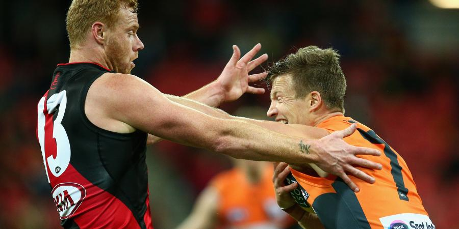 Giants blow Bombers away after half-time