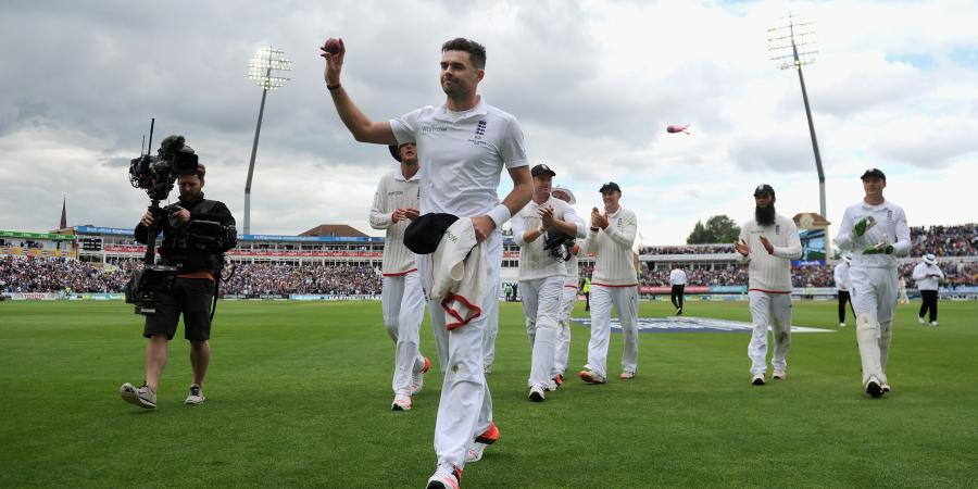 James Anderson included in 14-man Squad for Fifth Test
