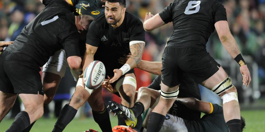 All Blacks target physicality at breakdown