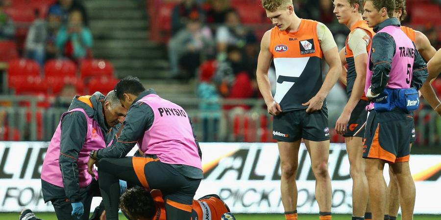Coniglio's AFL absence incenses Giants