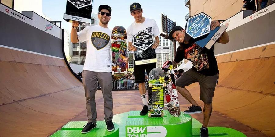 Dew Tour LA. Welcome home - Highlights.