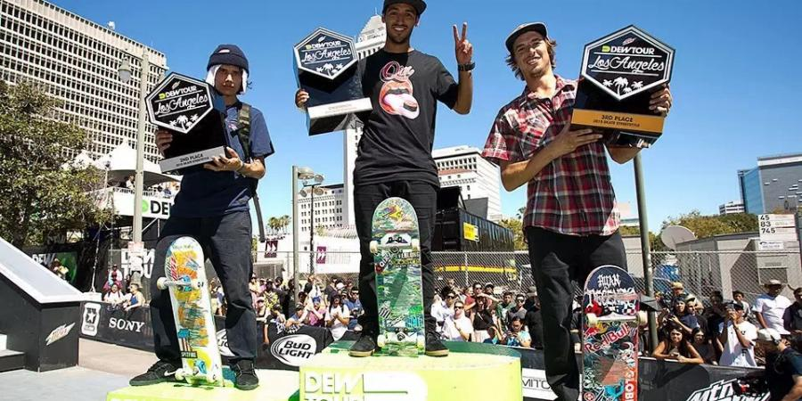 Dew Tour LA - the unstoppable Hoefler and Decenzo's comeback