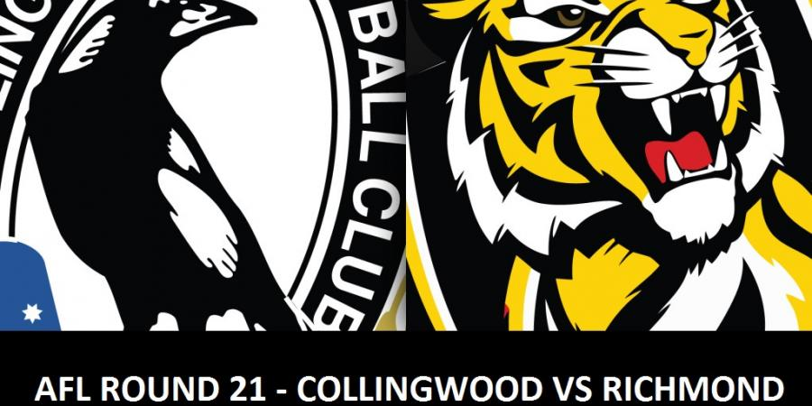 AFL round 21 - Collingwood vs Richmond preview