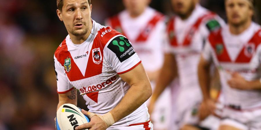 Dragons hold onto spot in NRL top eight