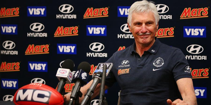 What Malthouse had in store for the Blues in 2016