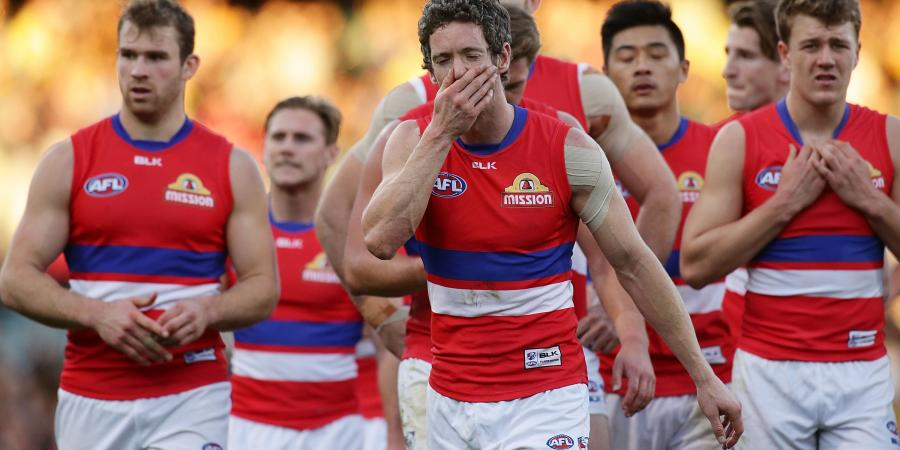 Battered Bulldogs sweat on AFL injuries