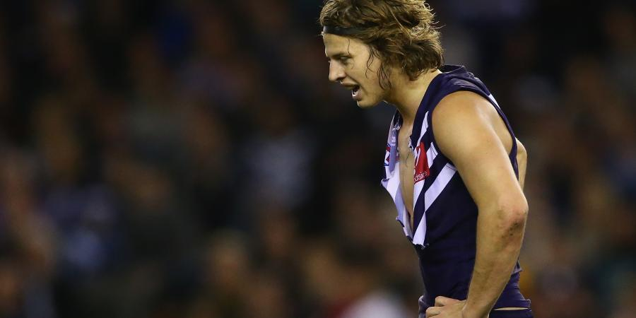 Fyfe on report as Roos stun Dockers