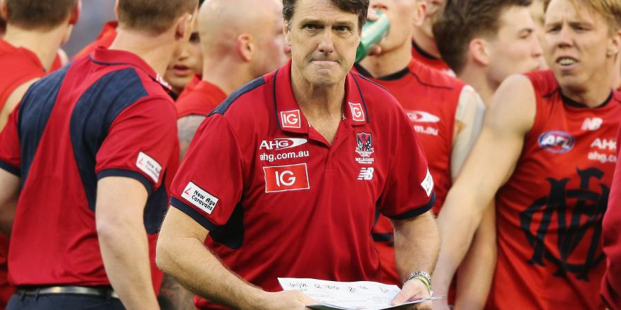 Demons too negative in AFL, says Roos
