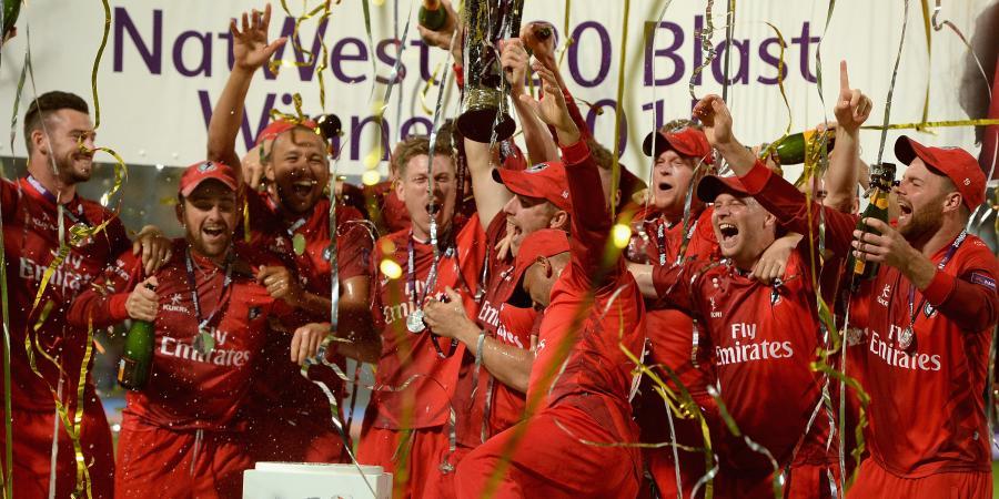 Lancashire Lightning win the NatWest T20 Blast