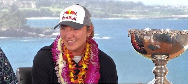 Spare a thought for Courtney Conlogue. Carissa Moore won her third world title.