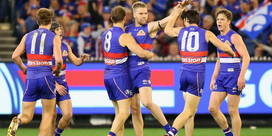 Bulldogs post profit in AFL