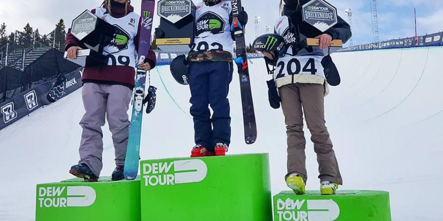 Dew Tour Breck - Snowboard and Freeski highlights, Part 1