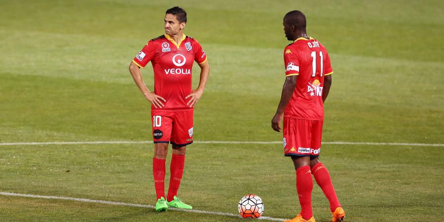 Adelaide roll Sydney FC 2-1 in A-League