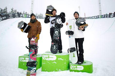 Dew Tour Breckenridge, part 2 - McMorris, Sandbech, White
