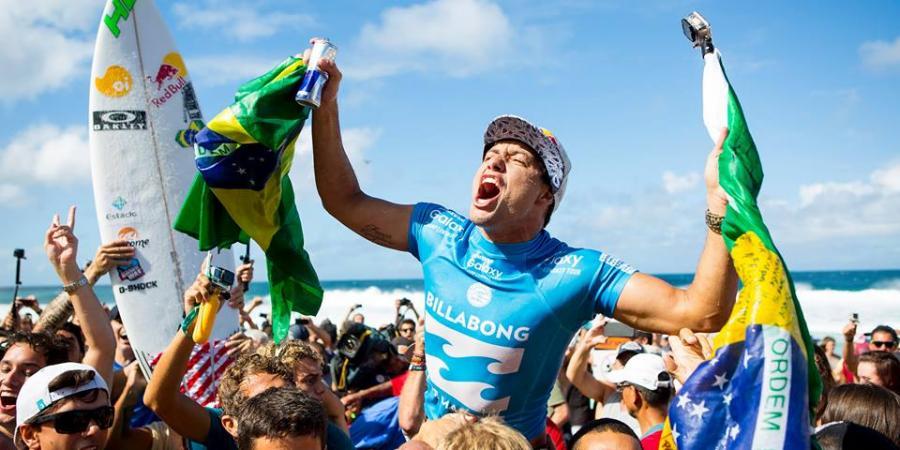 Adriano de Souza is the world champ, despite all that controversial judging.