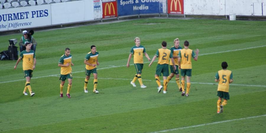 Olyroos Warm-up prior to Qatar
