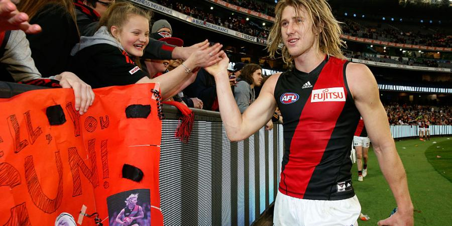 Heppell happy to wait for Bombers' top job