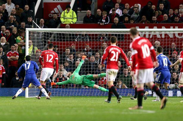 Manchester United vs Chelsea: Manchester United Player Ratings