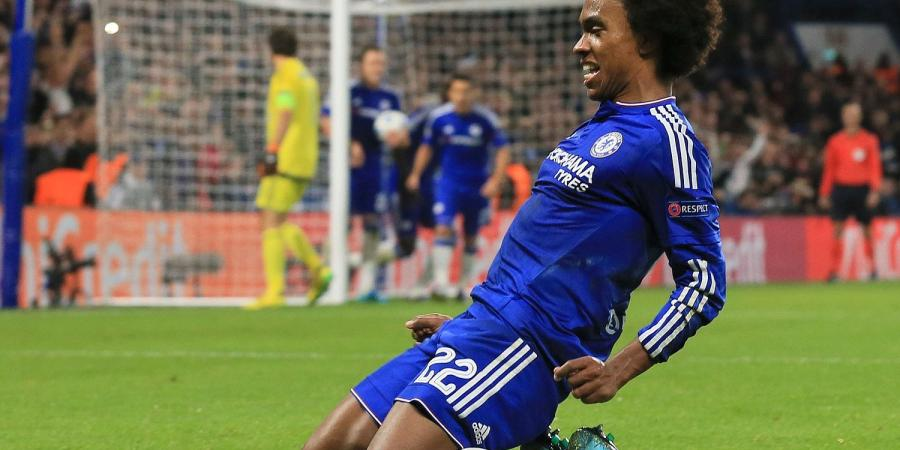 Willian Looks Back