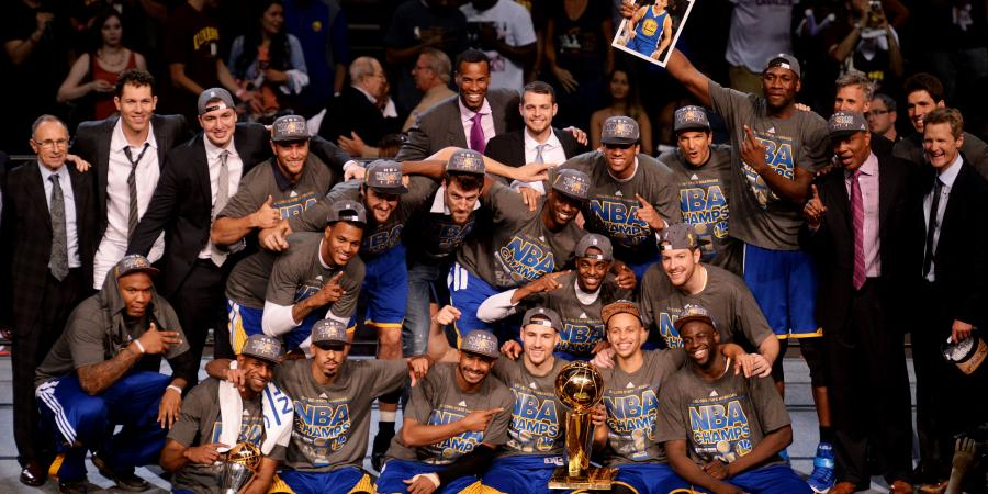...And the Warriors take the NBA Championship