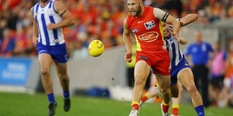 Gaz-inspired Suns thump Kangaroos in AFL