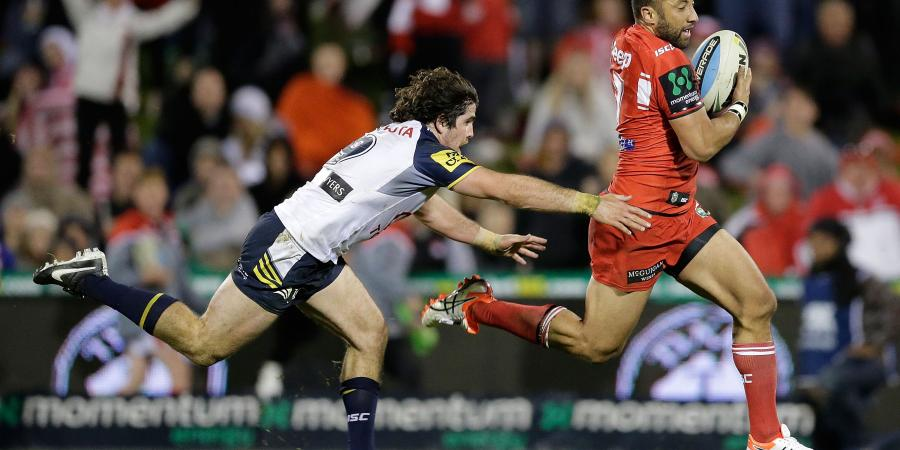 Dragons out to stop slide against Sharks