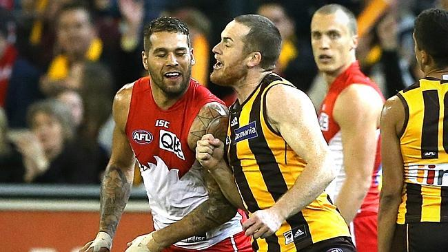 Who would you rather: Roughead or Franklin?
