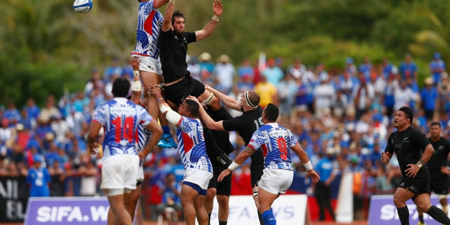 Samoa vs All Blacks Test Match Video Highlights