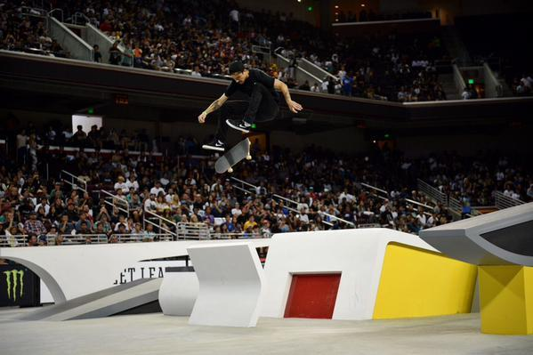Street League Skateboarding Stop 1 - plenty to be impressed about