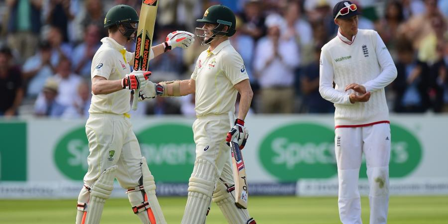 Second Ashes Test, Day 1: Twin Tons put Australia on top