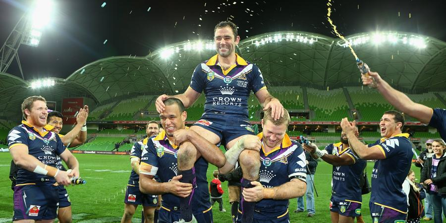 Storm celebrate Smith's 300th in style
