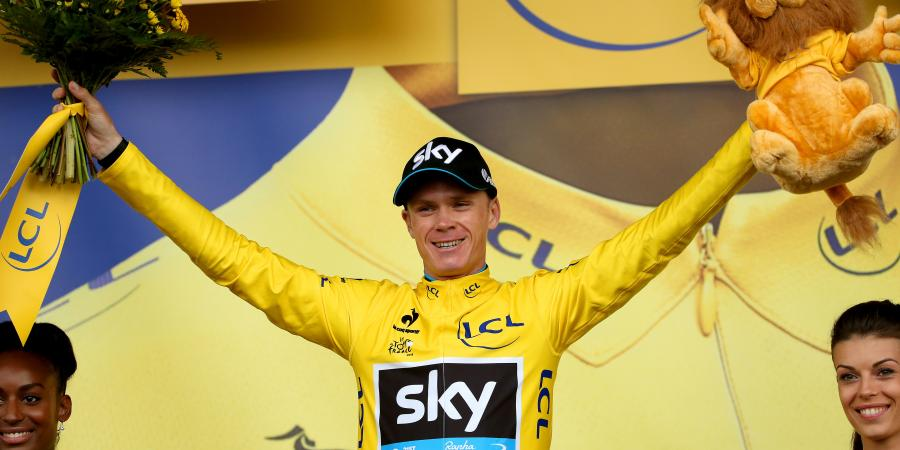 Chris Froome takes the Piss