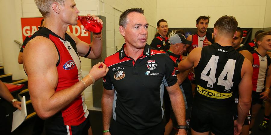 Saints add two years to coach's AFL deal