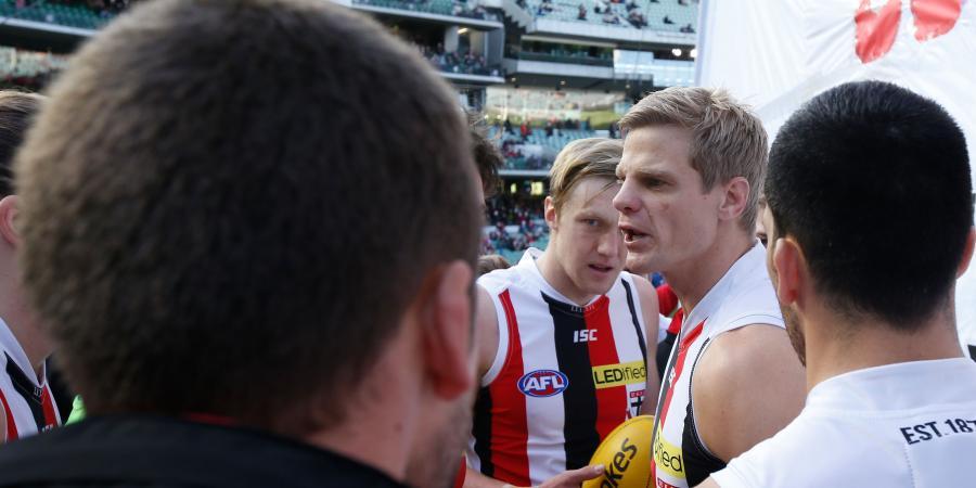 Riewoldt leads Saints to AFL win