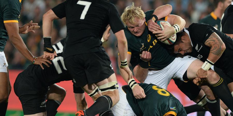 Springboks played final quarter with an extra man