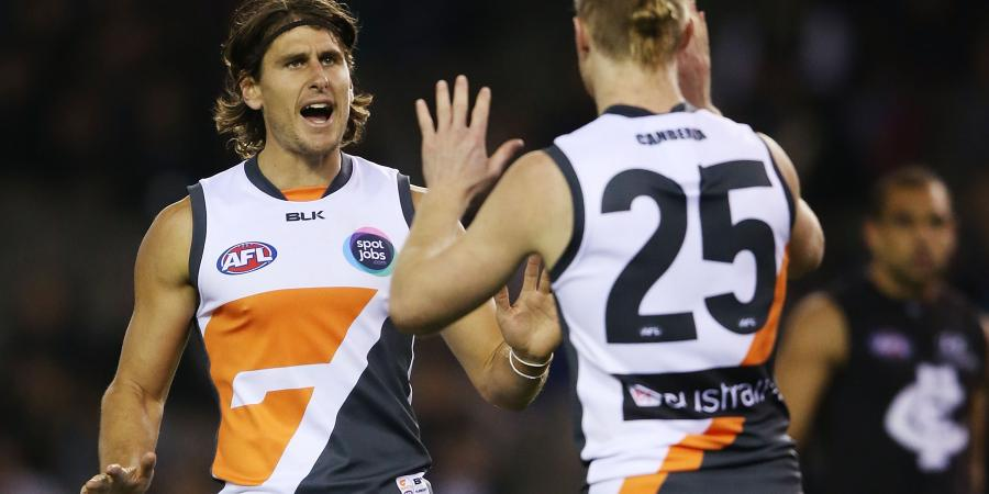 GWS' Griffen happy at half-back