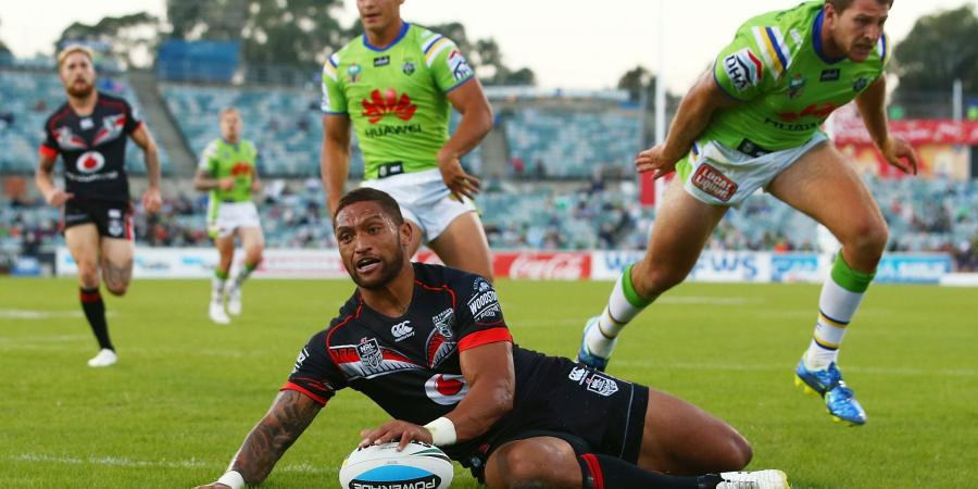 Warriors and Half-Time Sink Raiders