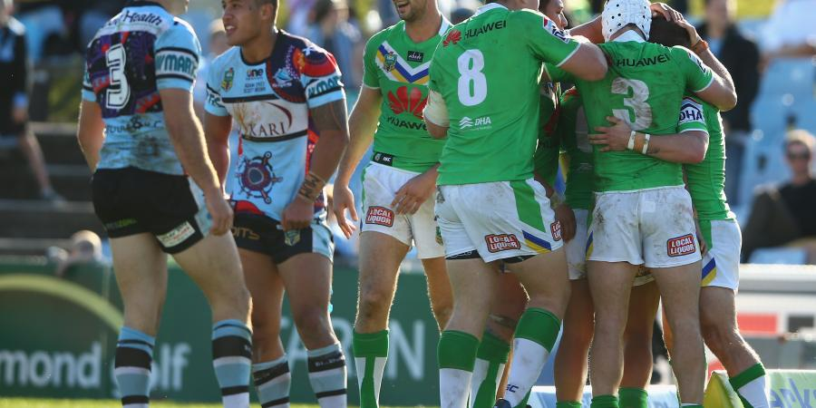 Raiders v Sharks Wrap-Up