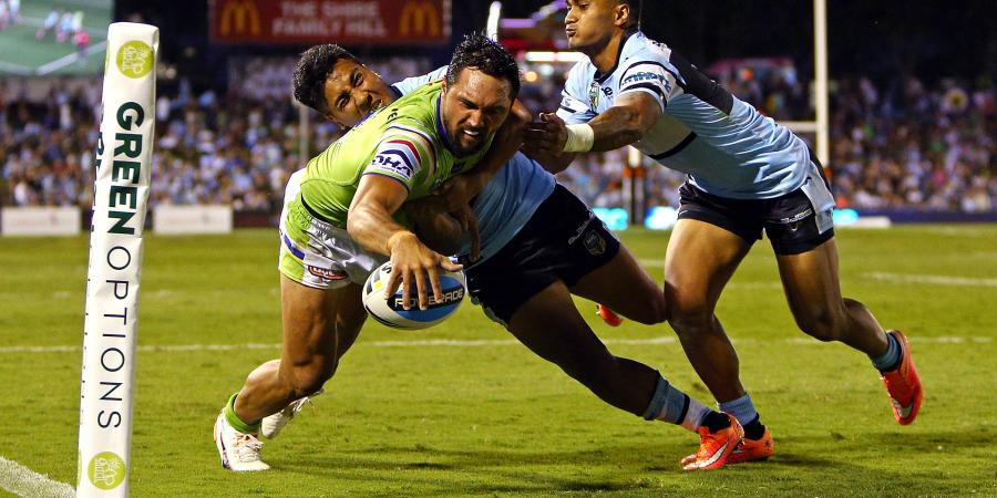 Raiders Sneak Home Against Sharks