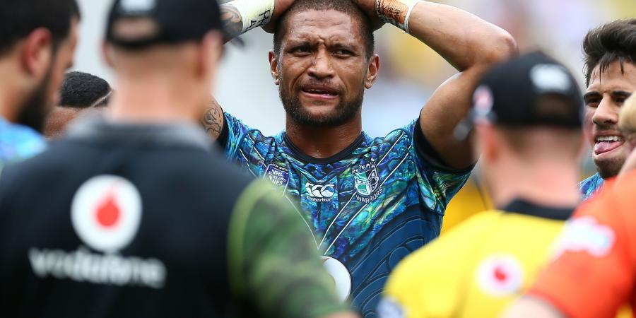 Manu Vatuvei vs young crop of Warriors backs