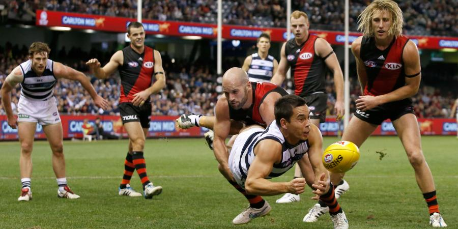 Doing the maths � Essendon v Geelong Round 10 2015