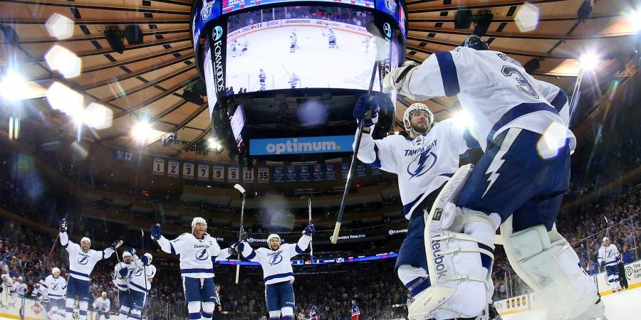 Rangers struck by Lightning in Game 7