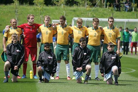 Pararoos pave the way for future Paralympic footballers