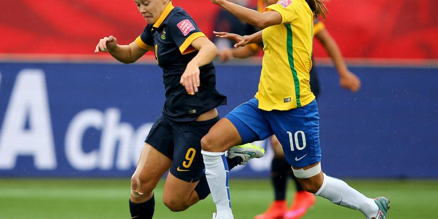 Matildas bounce Brazil from the 2015 Women�s World Cup